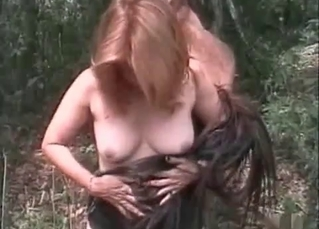 Outdoors farm fucking with a hottie