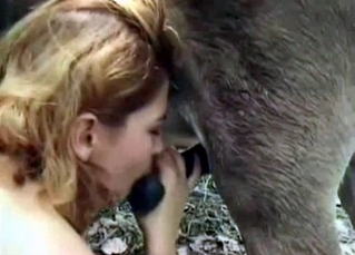 Pure pleasure with a sexy animal